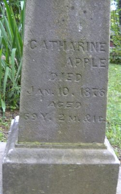 Catharine <i>Crumbaugh</i> Apple