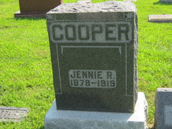 Jennie Rebecca <i>Jones</i> Cooper