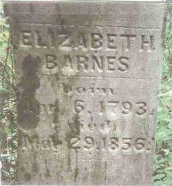 Elizabeth <i>Myers</i> Barnes