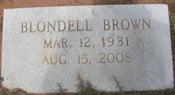 Joan Blondell Dell <i>Brown</i> Phillips