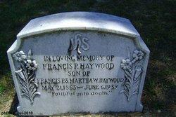 Francis Philomen Frank Haywood, II