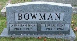 Abraham Nick Bowman