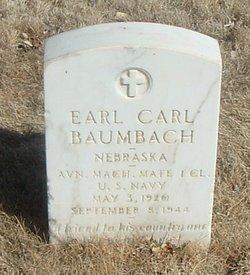 Earl Carl Baumbach