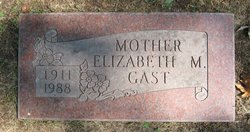 Elizabeth Marion Betty <i>Abbey</i> Gast