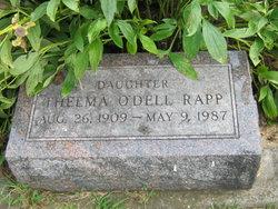 Thelma <i>O&#39;Dell</i> Rapp