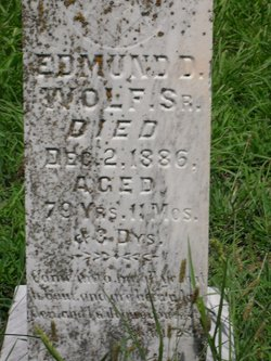 Edmond Dorr Wolf, Sr