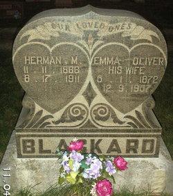 Emma <i>Oliver</i> Blackard