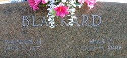 Warren Henry Blackard