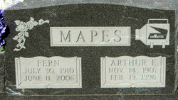 Arthur Elwood Mapes