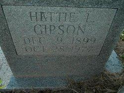 Hettie L. <i>Bolton</i> Gipson