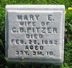 Mary E. <i>Wallace</i> Pitzer