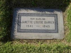 Janette Louise Little Janette Barker