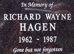 Richard Wayne Hagen