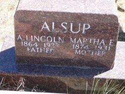 Martha E. <i>Dugger</i> Alsup