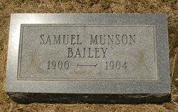 Samuel Munson Bailey