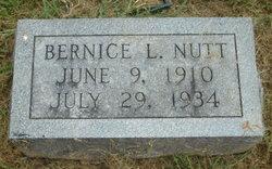 Bernice Lorraine Nutt