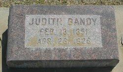 Judith <i>Bennett</i> Bandy