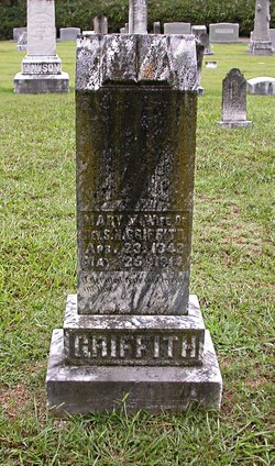 Mary Malinda <i>Garrish</i> Griffith