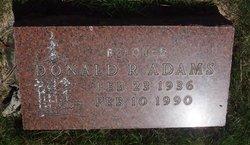Donald R Adams