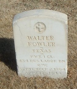 Walter Fowler