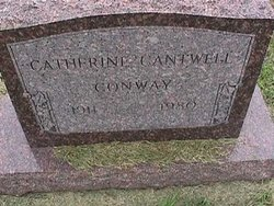 Charlotte Catherine Catherine <i>Cantwell</i> Conway