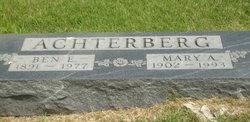 Ben E Achterberg