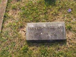 Emma Virginia <i>Tompkins</i> Coleman