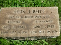 Pvt John J. Britt