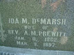 Ida May <i>DeMarsh</i> Prewitt