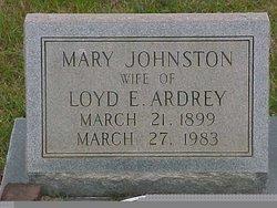 Mary <i>Johnston</i> Ardrey