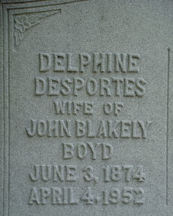 Delphine <i>DesPortes</i> Boyd