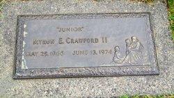 Myron E Junior Crawford, II