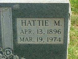Hattie M <i>Reed</i> Garrett