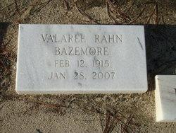 Valaree <i>Rahn</i> Bazemore