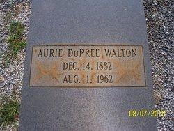 Aurie <i>Dupree</i> Walton