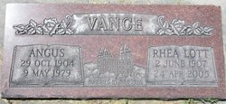 Angus Vance