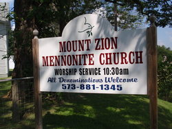 Mount Zion Church Methodist South Cemetery