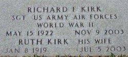 Richard F Kirk