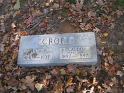 Julia Frances <i>Glover</i> Croft