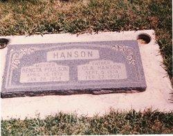 Bengta <i>Poulson</i> Hanson