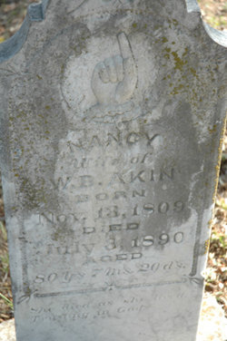 Nancy <i>Ellis</i> Akin