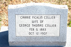 Carrie <i>Fickling</i> Collier