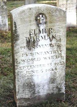 Pvt Elmer Warman