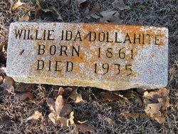 Willie Ida <i>Thompson</i> Dollahite