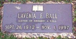 Lavenia F. Ball