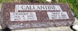 Oran Alvin Callantine