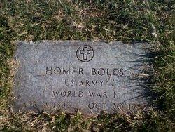 Homer Boles