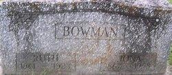 Jona Anne <i>Marshall</i> Bowman