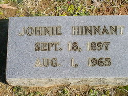 Johnie Hinnant