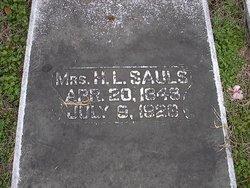 Malissa Jane <i>Smith</i> Sauls